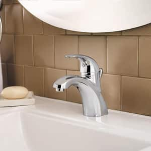 Pfister Parisa™ 1.2 gpm 1 or 3-Hole Centerset Lavatory Faucet with Single Lever Handle PLF042PR