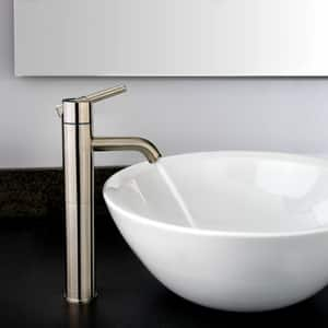 Pfister Contempra™ 1.2 gpm 1-Hole Vessel Faucet with Single Lever Handle PLG40N