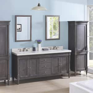 Fairmont Designs Rustic Chic Double Bowl Vanity with 4-Door and 4-Drawer FV7221D