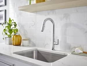 American Standard Beale™ 17-9/16 in. 1.5 gpm 1-Hole Kitchen Sink Faucet with Single Lever Handle A4931300