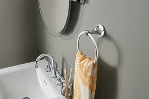 Moen Banbury® 1.2 gpm 3-Hole High Arc Bathroom Faucet with Double Lever Handle MWS84924