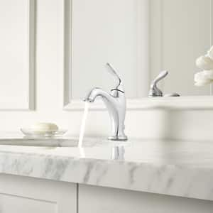 Pfister Northcott™ 1.2 gpm 1-Hole Deck Mount Single Control Lavatory Faucet with Single Lever Handle and High Arc Spout PLG42MG0