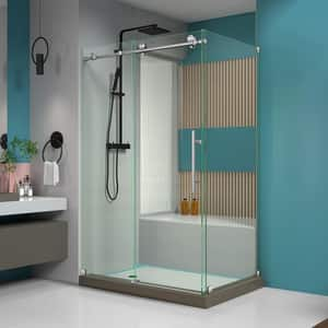 Dreamline® Enigma-X 48-3/8 in. Frameless Sliding Shower Enclosure with Clear Tempered Glass DSHEN6134480