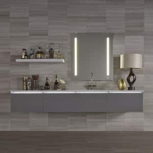 Robern AiO® 35-1/8 in. Rectangle Wall Mirror with OM Audio (Less Frame) RAM36RFPA