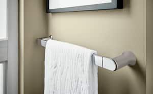 Creative Specialties International Genta™ 24 in. Towel Bar in Polished Chrome CSIBH3824CH