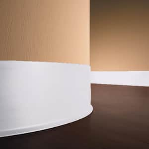 Roppe Corporation 120 ft. x 4 in. Vinyl Laminate Dryback Wall Cove Base RHC40LA5P1