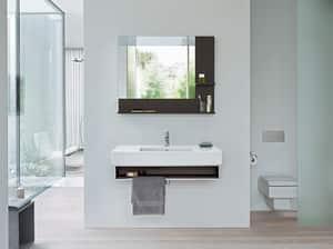 Duravit USA Vero® 6-69/100 in. Furniture Washbasin in White Alpin D0329850000