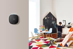 Ecobee ecobee4 2H/2C and 4H/2C Wi-Fi Programmable Thermostat with Remote Sensor EEBSTATE4P01 at Pollardwater