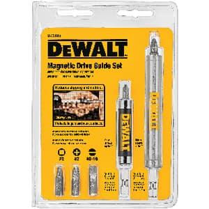 Dewalt 1/4 in. Magnetic Drive Guide Set DDW2095