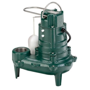 Zoeller Waste Mate 1/2 hp 115V Auto Sewage Pump with 25 ft. Cord Z2670006