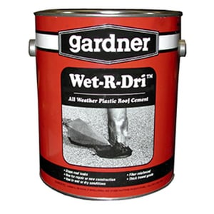 Jones Stephens Wet-R-Dri™ 1 gal. Plastic Roof Cement JC09001