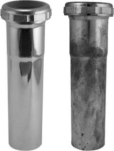 Keeney 1-1/2 x 12 in. 17 ga Slip Joint Extension Tube KEE7906