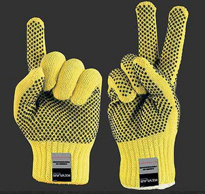 Memphis Glove PVC Dot Single Sided M9365