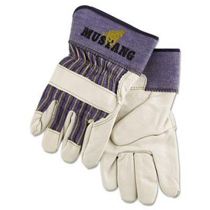 Memphis Glove Mustang Cotton, Leather and Rubber Grain Palm Gloves M1935