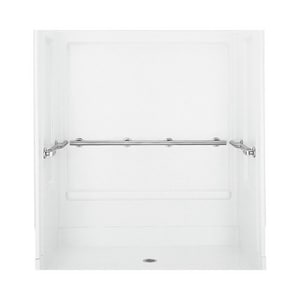 Sterling Plumbing Group 63-1/4 x 39-3/8 in. Roll-in Shower S62060103