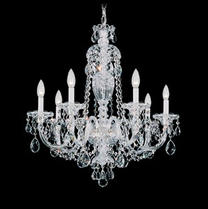 Schonbek Sterling 60 W 7-Light Candelabra Chandelier S299540H