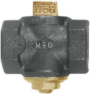 A.Y. McDonald 1-1/2 in. 175 psig Tamperproof Gas Cock M559BJ