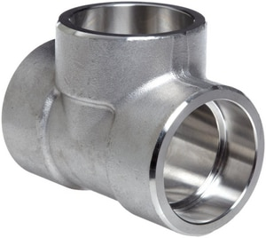 3000# 304L Stainless Steel Socket Tee IS4L3ST
