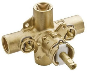 Moen Pressure Balancing Tub And Shower Valve With Stops