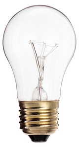 Satco 130V Medium Base Light Bulb in Clear SS3814