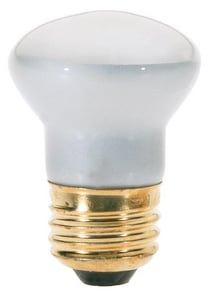 Satco R14 Dimmable Incandescent Light Bulb with Medium Base SS3605