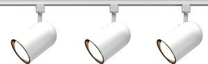 Nuvo Lighting 75 W 3-Light Track Light Kit in White NTK322