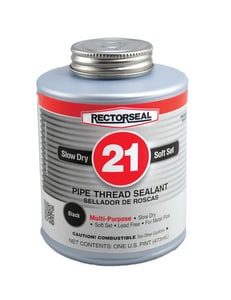 Rectorseal No. 21 Pipe Joint Compound in Black REC28541