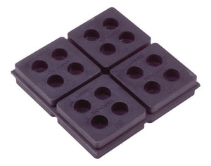 Diversitech 2 x 2 x 3/4 in. Iso-Cube Anti-Vibration Pad DIVISO2