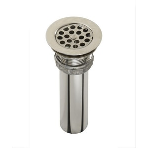 Just Manufacturing Stainless Steel Drain with Removeable Strainer JJ15FS