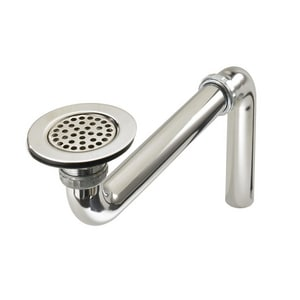 Just Manufacturing ADA Compliant Stainless Steel Drain with Removeable Strainer JJADA35FS