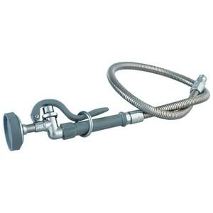 T&S Brass 1.42 gpm Prerinse Spray & Hose Chrome TB0100