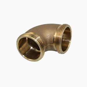 Sloan Valve F21 1-1/2 in. Slip Joint Elbow Rough Brass Double Male S0206146PK
