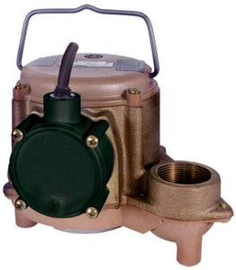 Little Giant Pump 4/10 hp Basement Sump Pump L508257