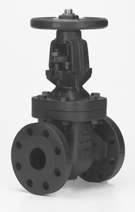 Milwaukee Valve Flanged Cast Iron Gate Valve M2894M