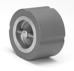 Milwaukee Valve 1400 125 psi Cast Iron Wafer Silent Check Valve MIL1400