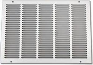 Shoemaker Manufacturing 14 x 8 in. Return Air Grille White S105014X