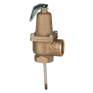Watts 3/4 in. NPT Female Bronze Relief Valve W140S210F