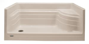 Jacuzzi Bonaire® 60 x 32 in. Shower Base with Left Drain JN6569