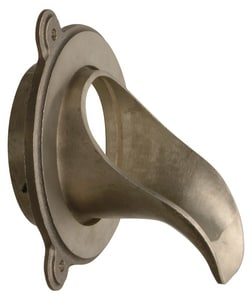 Zurn Industries 5-1/2 in. Iron Pipe Downspout Nozzle Bronze ZZARB1992IP