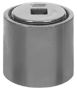 Zurn Industries No-Hub Clean-Out Ferrule with ABS Plug ZZ1440NH