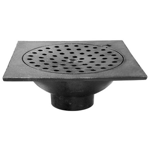 Jones Stephens 6 x 6 in. No Hub Bell Trap JD76302