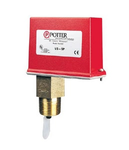 Potter Electric Signal Water Flow Switch for Small Pipe PVSSP