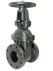 Milwaukee Valve 2885-M Cast Iron Flanged Gate Valve M2885M