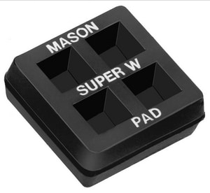 Mason Industries Super W Pad 2 x 2 in. (individual) MAS1000