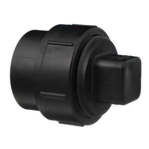 Charlotte Pipe & Foundry Spigot x FPT Plastic DWV Fitting Cleanout Adapter with Plug ADWVCOAP