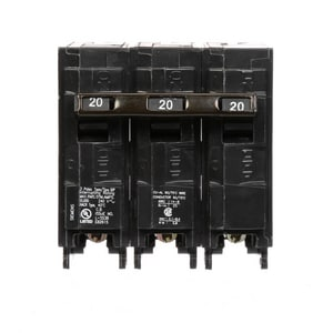 Siemens Energy & Automation 240V 3-Pole Plug-In Circuit Breaker SQ3
