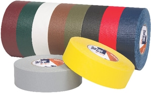 Shurtape 2 in. Cloth Duct Tape in Black SPC628K60BK