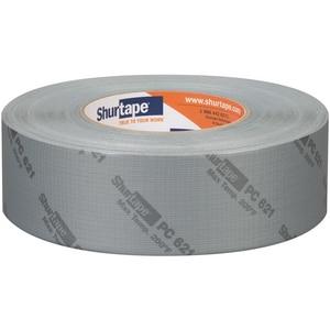 Shurtape PC 621 2 in. x 60 yd. Silver Polyethylene Heavy Duty Duct Tape SPC621K60PRINTED