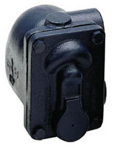 Armstrong International 11-5/8 in. 15 psi Cast Iron Float & Thermostat Steam Trap A15B8K