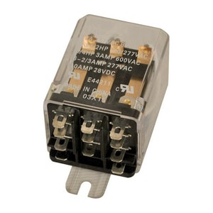 Motors & Armatures 11 A Triple Pole Double Thread Relay MAR43056